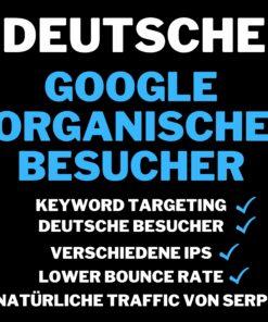 Deutsch websiten Besucher mit low bounce rate