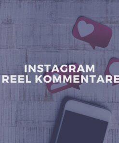 Instagram Reel Kommentare kaufen
