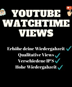 Youtube Watchtime kaufen