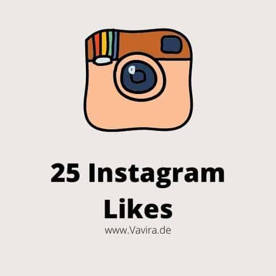 25 Instagram Likes